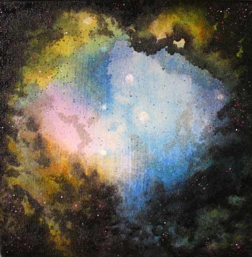 golden pyramid nebula - photo #2